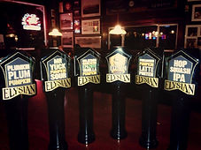 Parkway Tavern Elysian tap handles for a brewers event.