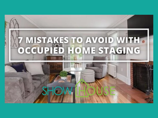 7 Mistakes to Avoid with Occupied Home Staging