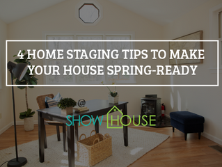 4 Home Staging Tips to Make Your House Spring-Ready