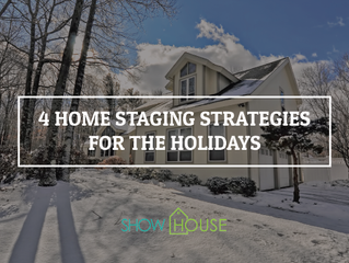 4 Home Staging Strategies for the Holidays