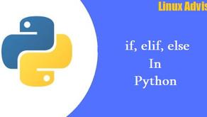 Python if, elif, else Statements