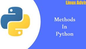 Python Methods
