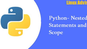 Python Nested Statements and Scope