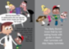Children's book illustration about Coliac for children