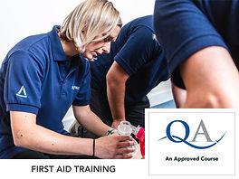 QA first aid training
