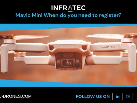 Mavic Mini When do you need to register?