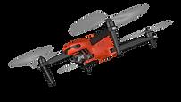 EVO 2 Drone in flight