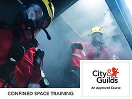 City and Guilds Confined space training