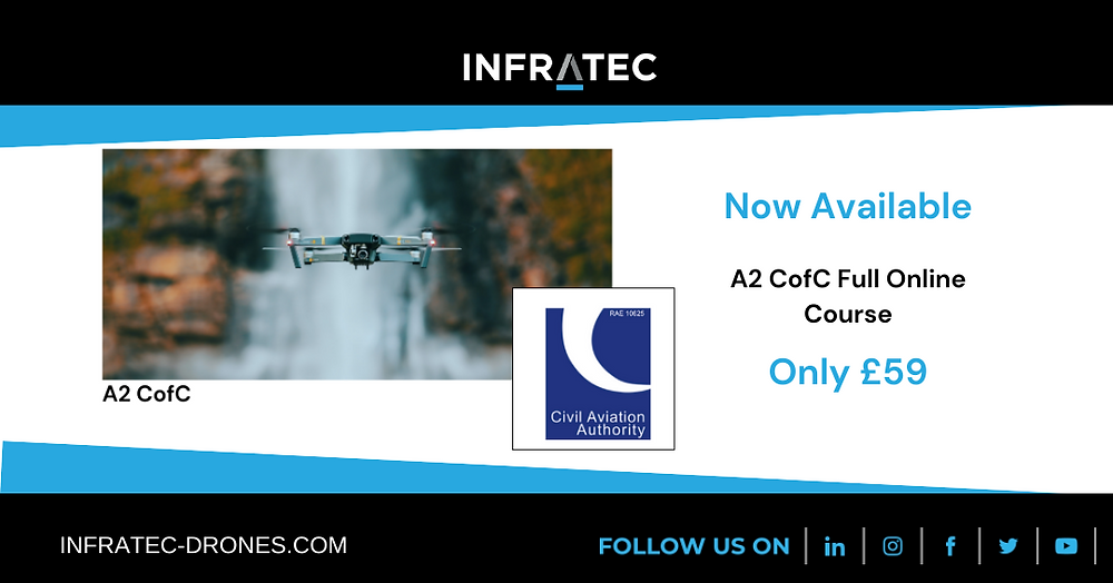 INFRATEC Drones A2 CofC online course only £59