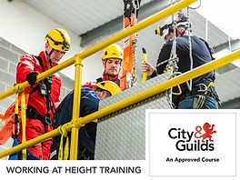 City and Guilds working at height training