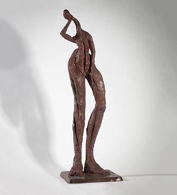 Bronze Metal Art Sculpture by Artist Pam Foley (Oxford UK)