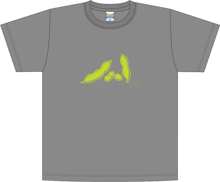 枝豆Tシャツ