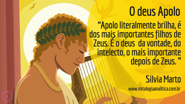 O deus Apolo