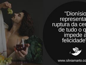Dionísio- deus do vinho, das festividades e do prazer