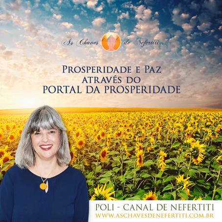 Prosperidade e Paz através do Portal da Prosperidade