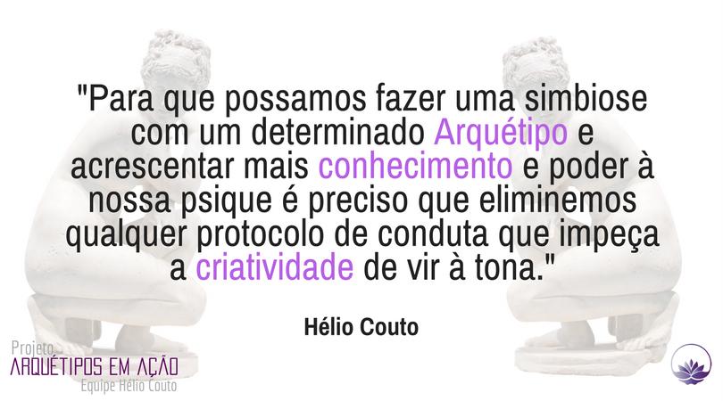 texto sobre arquétipos de Hélio Couto