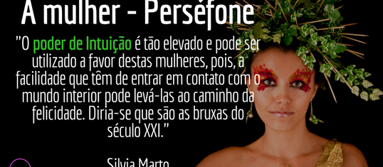A mulher- Perséfone