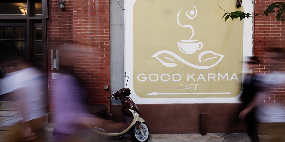 Poetry at Good Karma Cafe