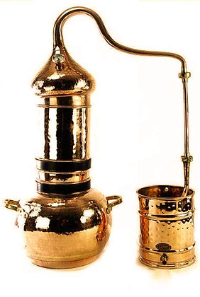 Kolonnenbrennerei 3 Liter mit Thermometer
