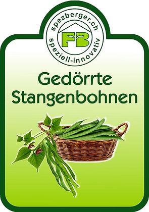 Gedörrte Stangenbohnen