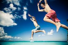 Kids Teens Beach Snorkel Gear Pier Jump-