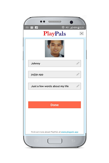 PlayPals app settings page.png