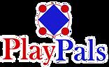 PlayPals Tshirt Logo 2021  White Border.