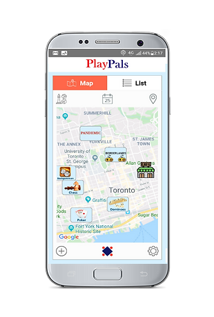 PlayPals app map page.png