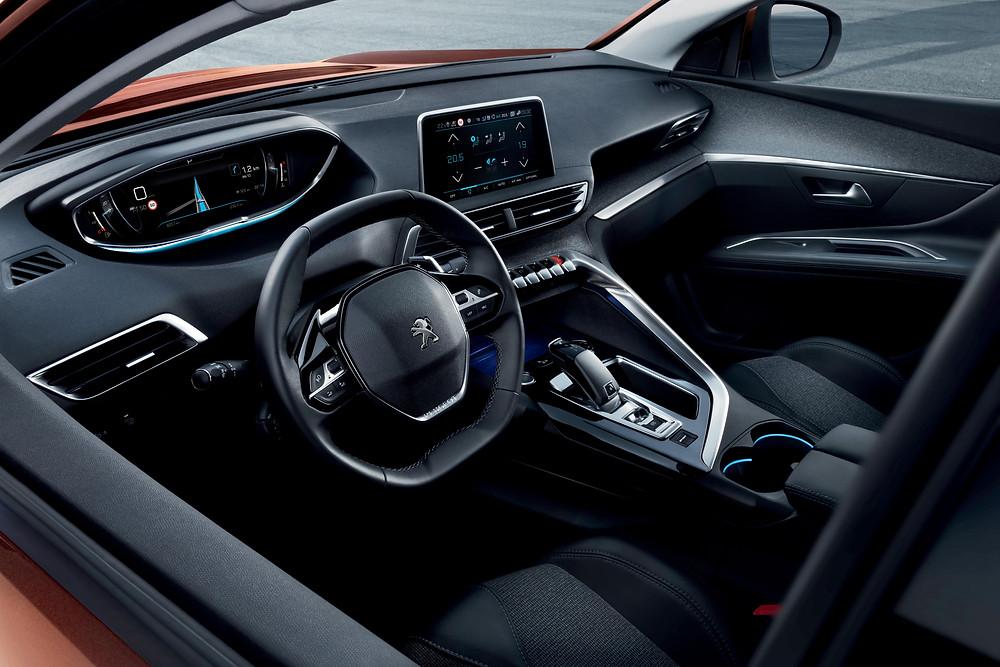 2017 Peugeot 3008 - interior