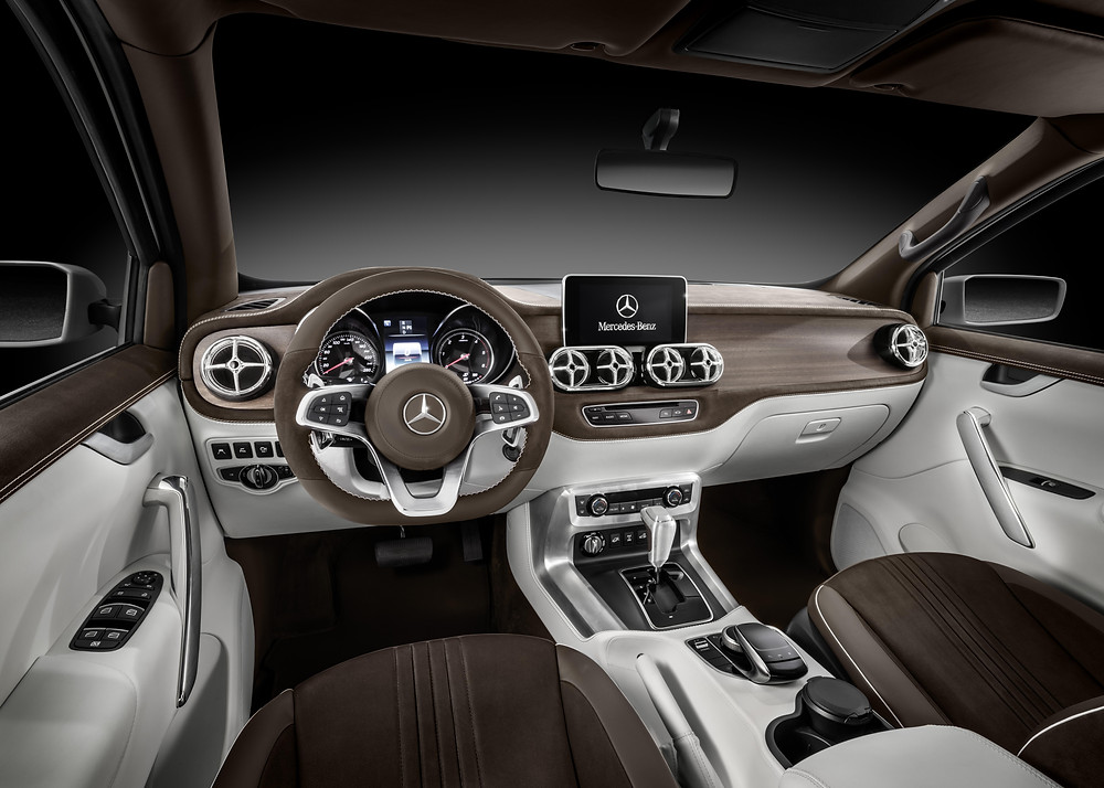 2017 Mercedes X-Class - concept - interior