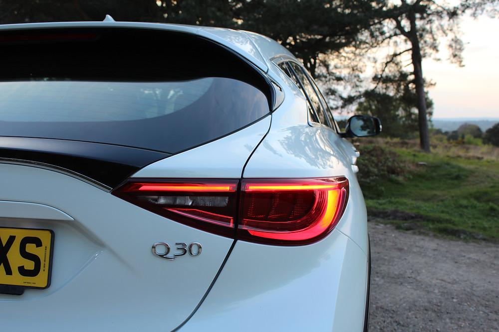 2017 Infiniti Q30 taillights