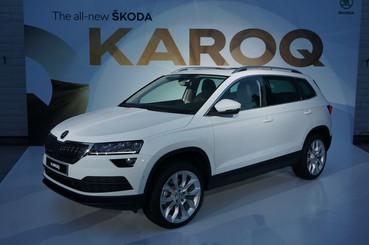 Skoda unveils Karoq compact-SUV