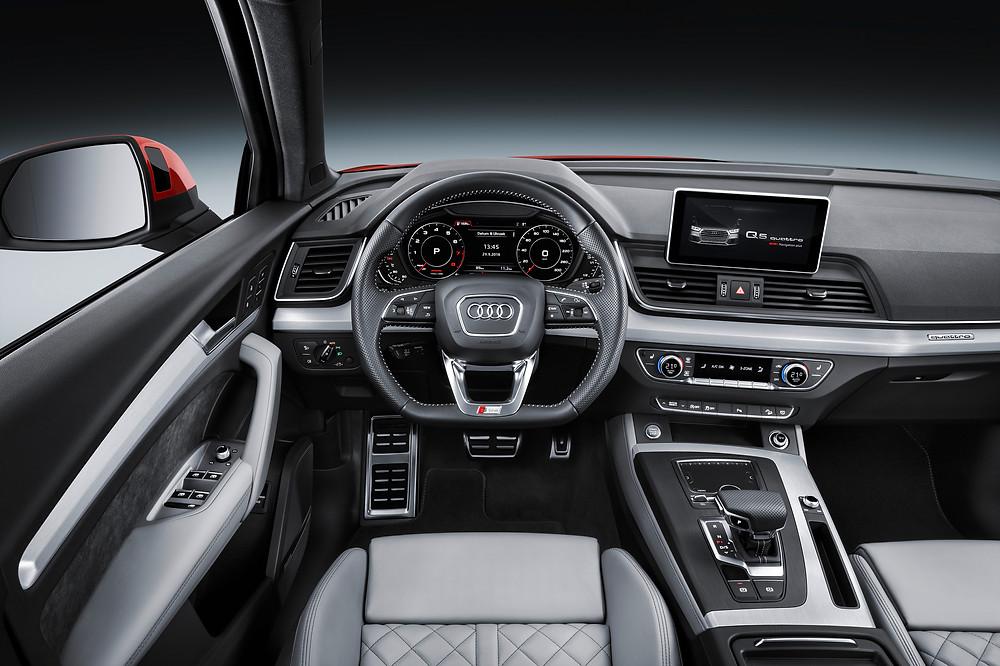 2017 Audi Q5 - interior