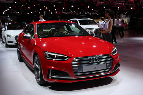 2017 Audi A5 and S5 Sportback unveiled at Paris Motor Show