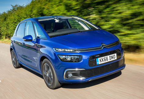 Citroen C4 Picasso and Grand C4 Picasso get mid-life refresh