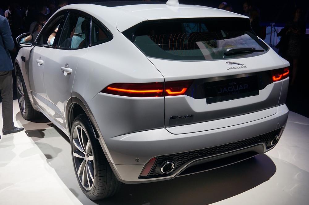 2018 Jaguar E-Pace rear