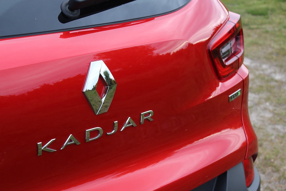 Renault Kadjar rear badge