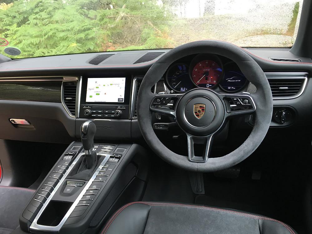 2016 Porsche Macan GTS - interior