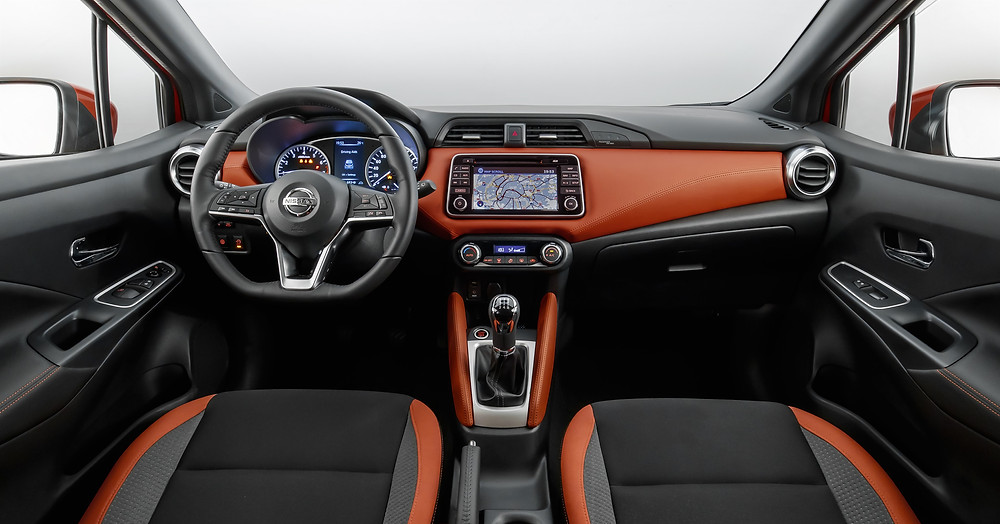 2017 Nissan Micra - inside