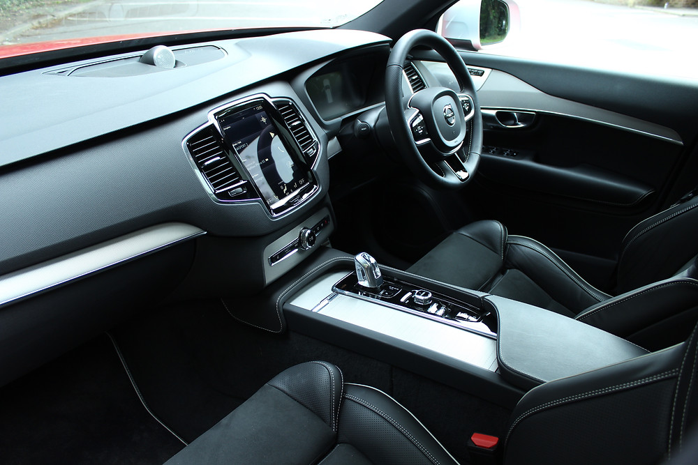 Volvo XC90 T8 R-Design front seats