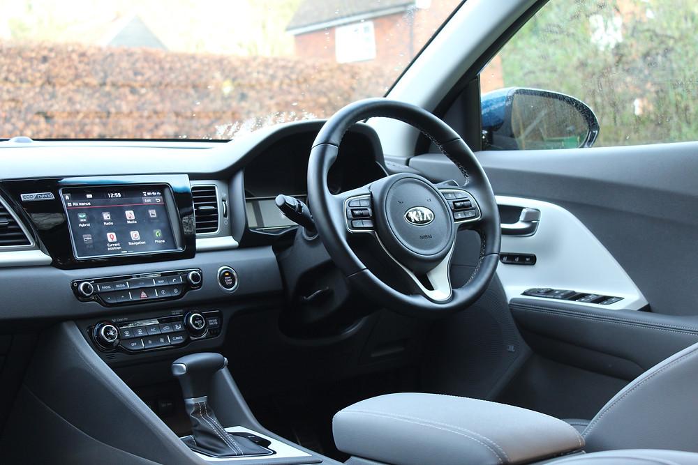 2017 Kia Niro Hybrid - interior