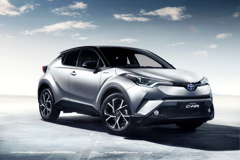2017 Toyota C-HR arrives in New Year