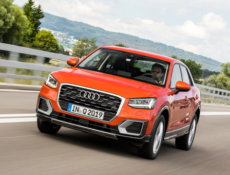 Audi Q2 is ready for collection