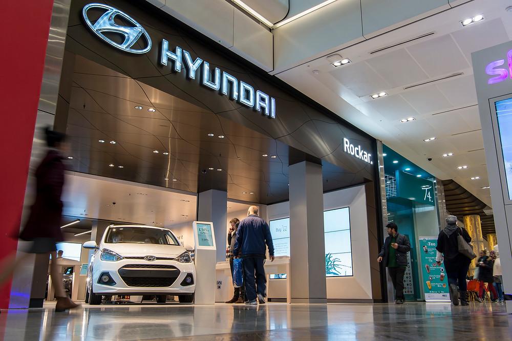 Hyundai Store Westfields Stratford