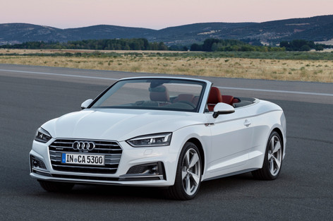 2017 Audi A5 and S5 Cabriolets unveiled before December launch