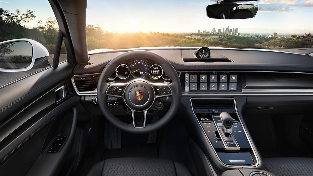 2017 Porsche Panamera E-Hybrid - interior