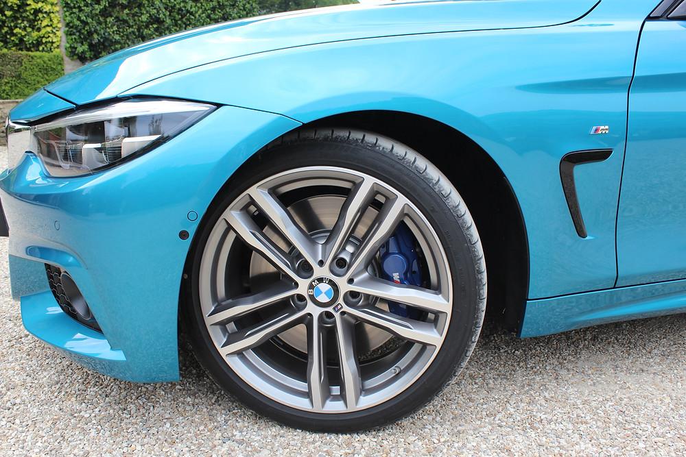 BMW 440i Gran Coupe alloys