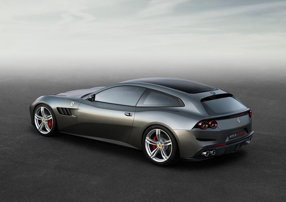 Ferrari GTC4Lusso - rear 3/4