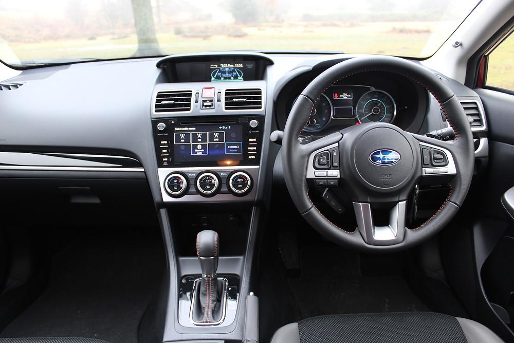 2017 Subaru XV 2.0-litre SE - dashboard