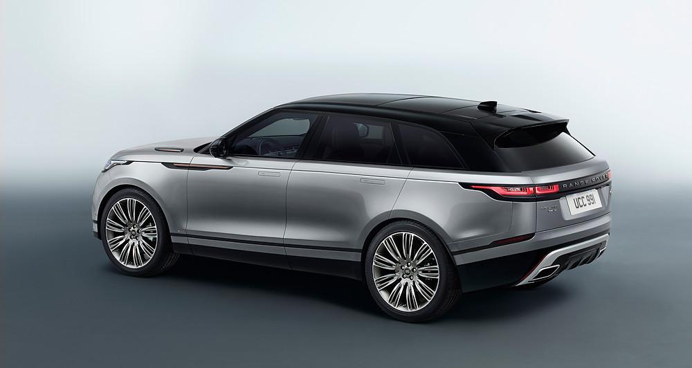 2017 Range Rover Velar - rear 3/4